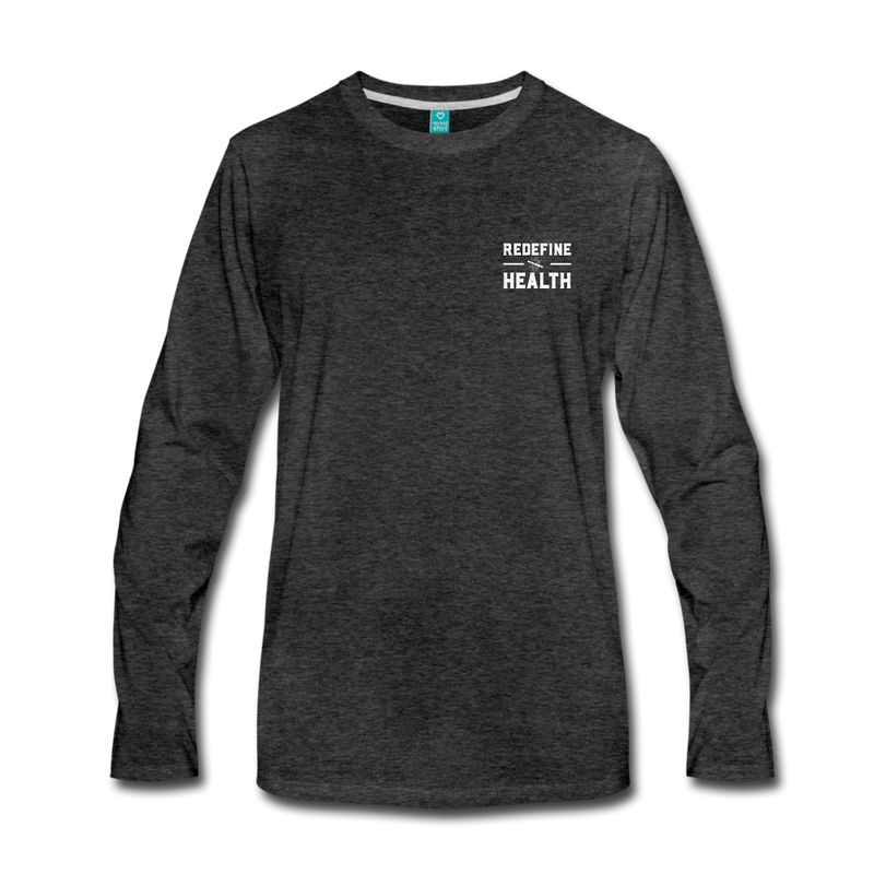 Redefine Health Long Sleeve (Dark) - charcoal gray