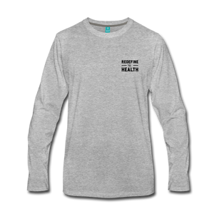 Redefine Health Long Sleeve (Light) - heather gray