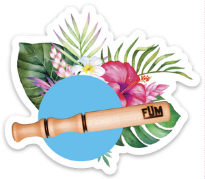 FÜM Tropical Sticker-FÜM-breathe-essential oils-inhaler-personal-diffuser-pen-aromatherapy-saje-youngliving-doterra