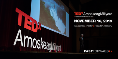 Official apparel partner - TEDxAmoskeagMillyard