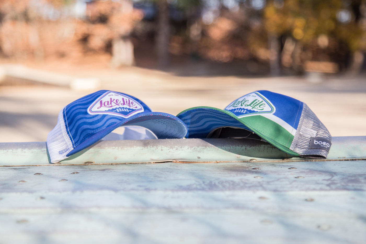 Lake Life Brand Trucker Cap