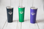 24oz Lake Life Brand drink tumbler