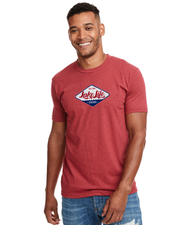 Limited Edition - Red, White, and Blue - Logo Tee