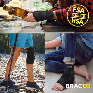 BRACOO FP30 Ankle Support with Stabilizer