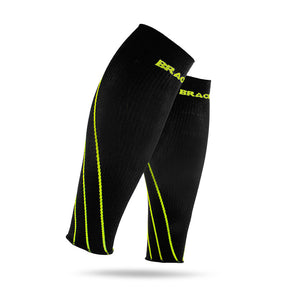 LE70 Compression Sleeves, yellow stripe