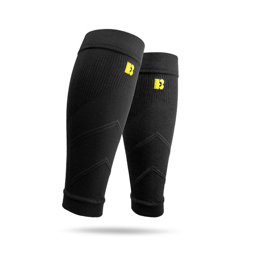 BRACOO LS70 Advanced Athletic Compression Leg Sleeves Black