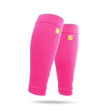 BRACOO LS70 Advanced Athletic Compression Leg Sleeves Pink