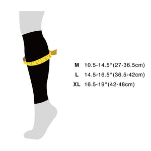 LE70 Compression Sleeves, white stripe