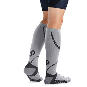 BRACOO LS72 ELP Compression Socks(Gray/Black)