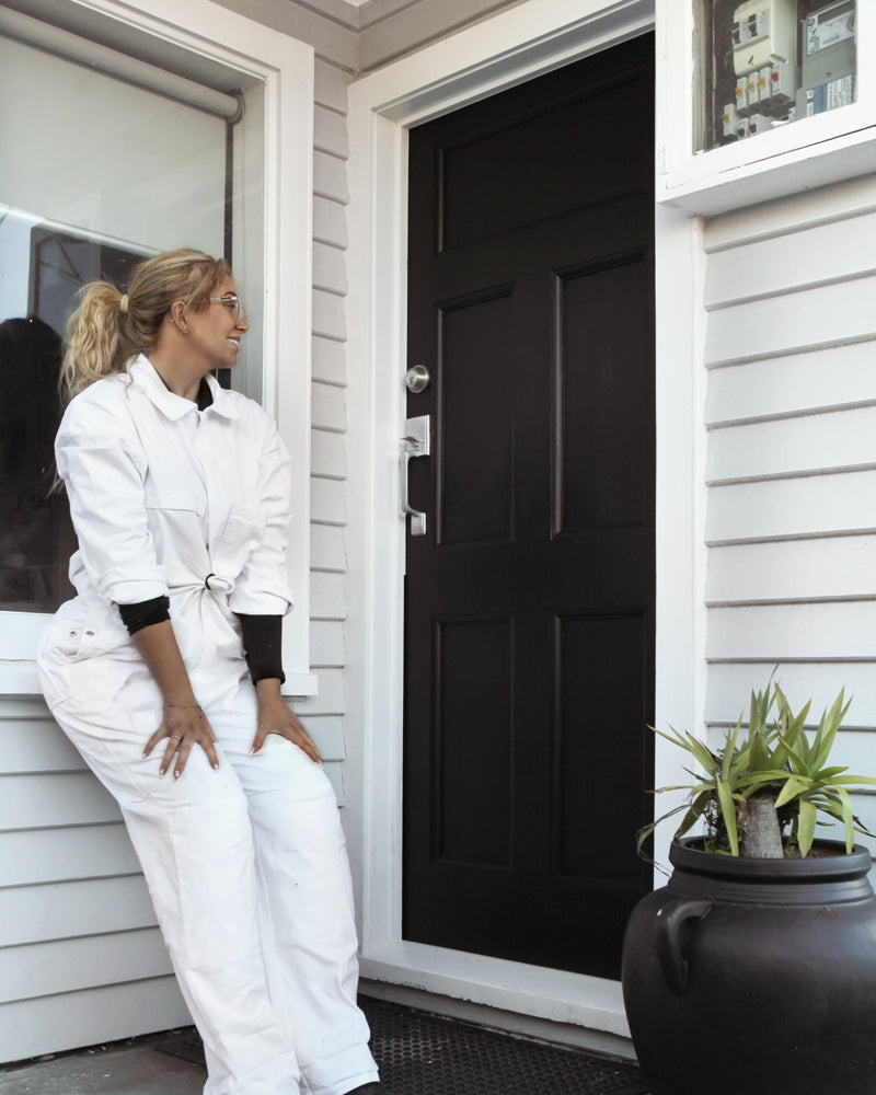 How to paint a front door (it's not that hard!)