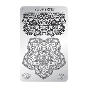 :YOURS LOVES FEE Mindful Mandana Stamping Plate