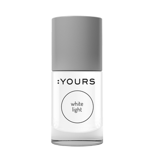 :YOURS WHITE LIGHT Stamping Polish