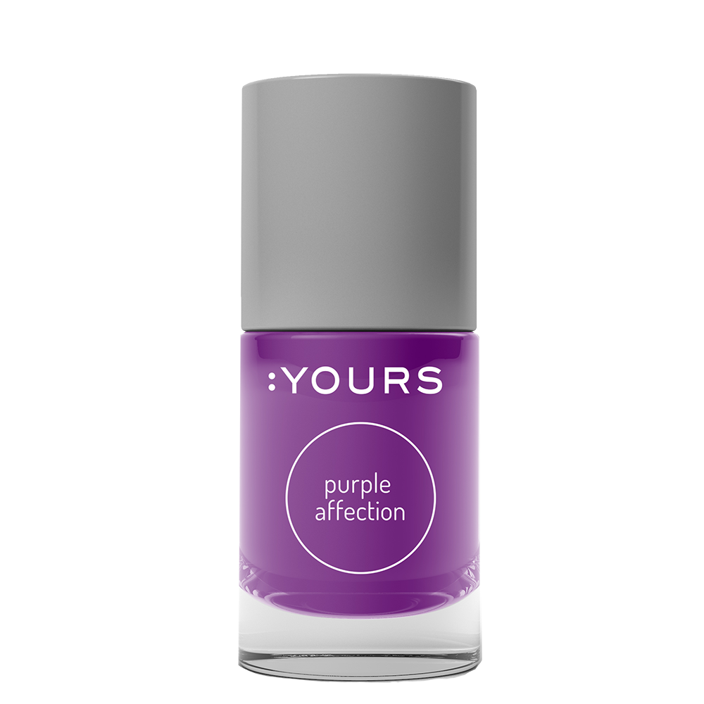 :YOURS PURPLE AFFECTION Stamping Polish
