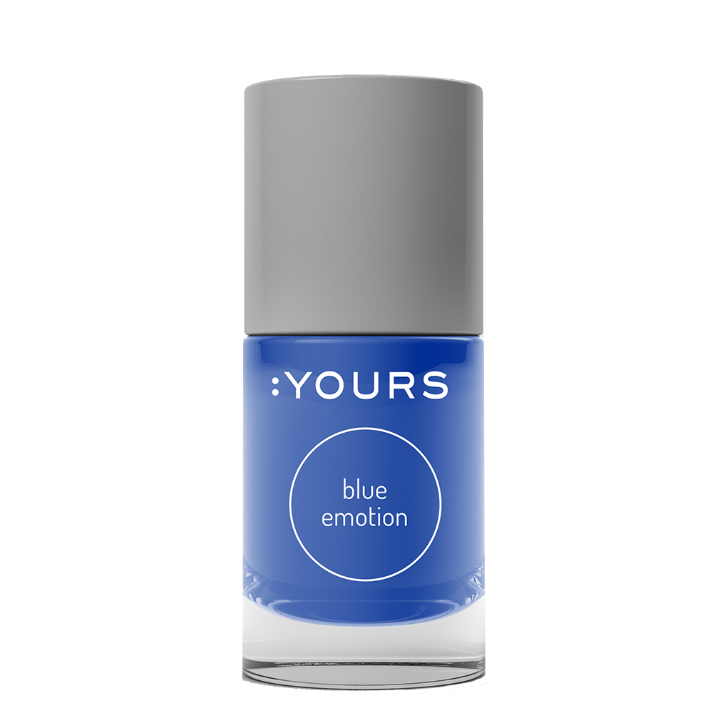 :YOURS BLUE EMOTION Stamping Polish