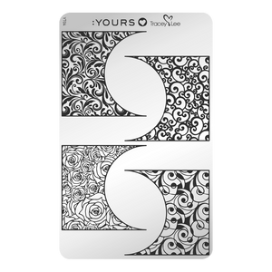 :YOURS LOVES TRACEY Off the Cuff Stamping Plate