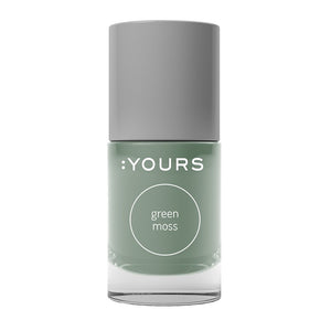 :YOURS GREEN MOSS Stamping Polish