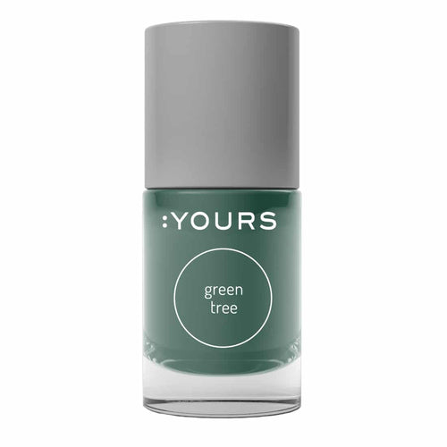 :YOURS GREEN TREE Stamping Polish