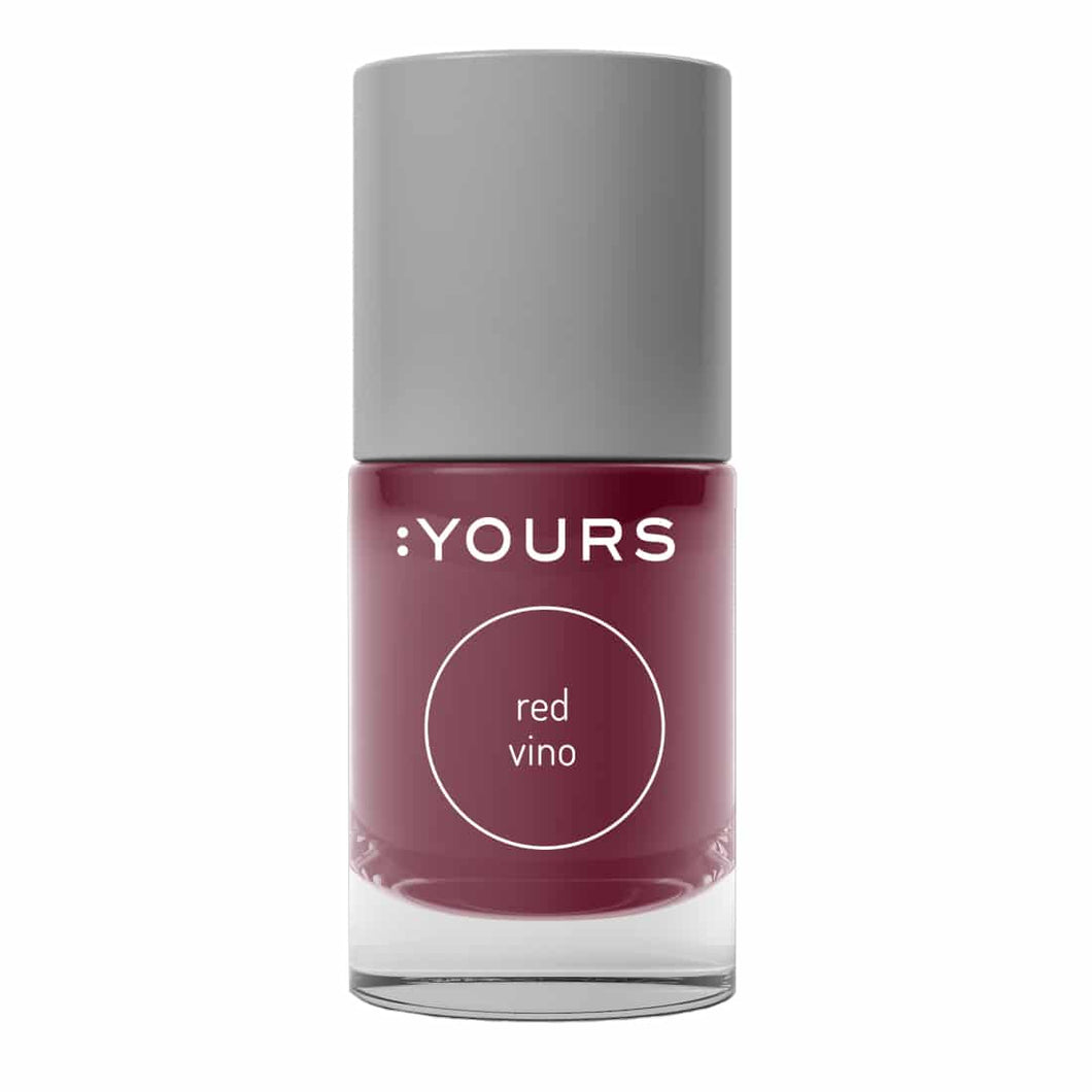 :YOURS RED VINO Stamping Polish
