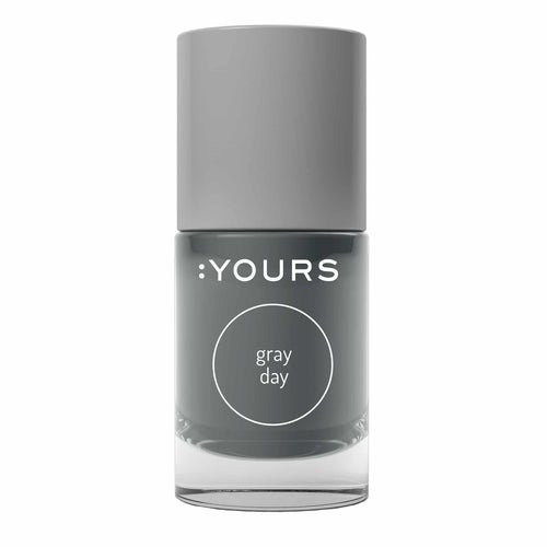 :YOURS GRAY DAY Stamping Polish