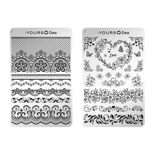 :YOURS LOVES DEE Lovely Flowers (double-sided)