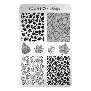 :YOURS LOVES NATALIYA Foliage (double-sided) Stamping Plate