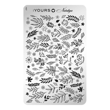 Load image into Gallery viewer, :YOURS LOVES NATALIYA Foliage (double-sided) Stamping Plate