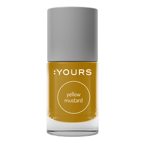 :YOURS YELLOW MUSTARD Stamping Polish