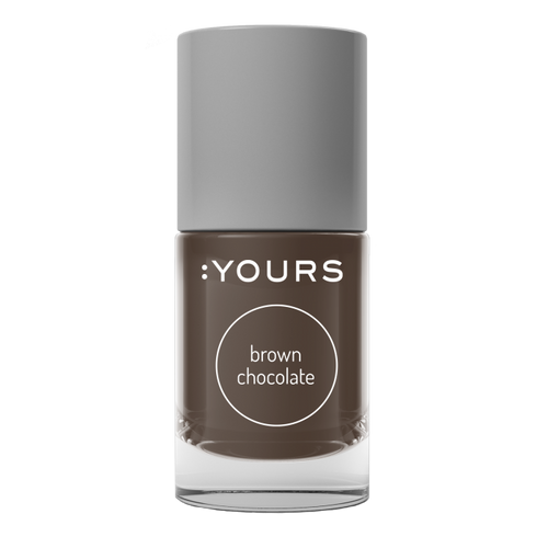 :YOURS BROWN CHOCOLATE Stamping Polish