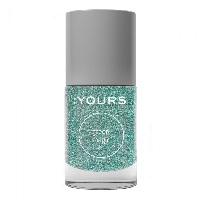 :YOURS GREEN MAGIC Stamping Polish