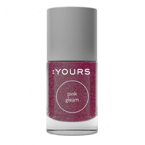:YOURS PINK GLEAM Stamping Polish