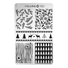 Load image into Gallery viewer, :YOURS LOVES YOU Winter Wolly (double-sided) Stamping Plate