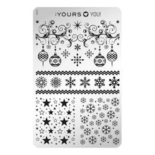 Load image into Gallery viewer, :YOURS LOVES YOU Take a Bow (double-sided) Stamping Plate
