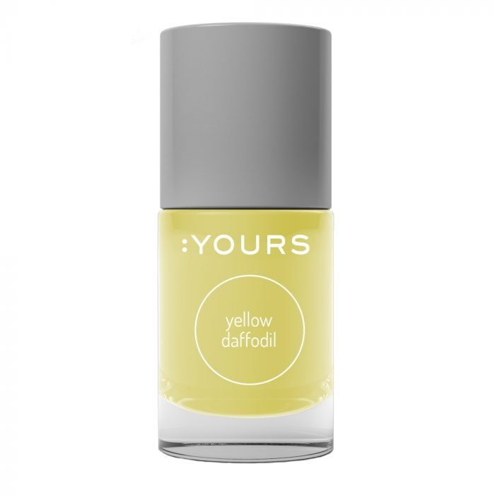 :YOURS YELLOW DAFFODIL Stamping Polish