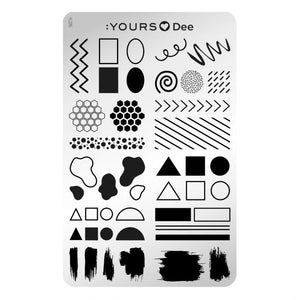 :YOURS LOVES DEE Floral Frame (double-sided)