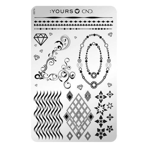 :YOURS LOVES CND Stamping Plate