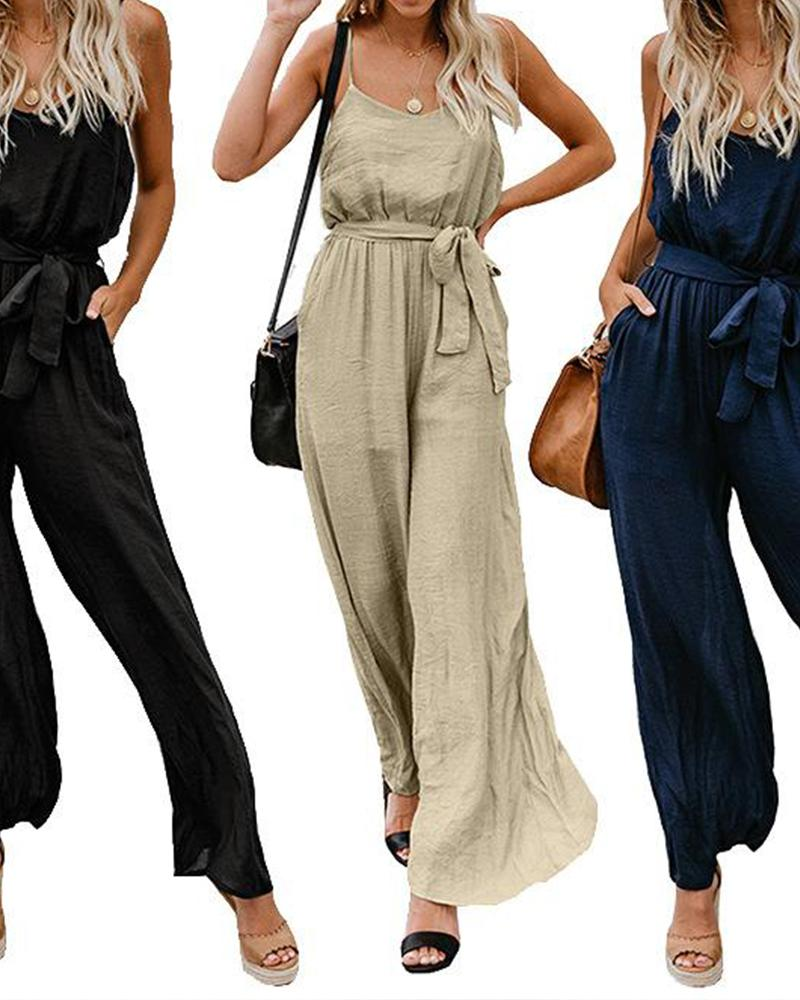 Tank Top Jumpsuits