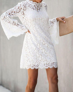 Women's Sexy Lace Two-Piece Dress
