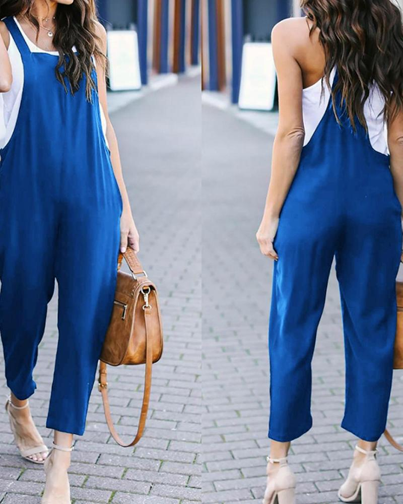 Candice Pocketed Jumpsuit