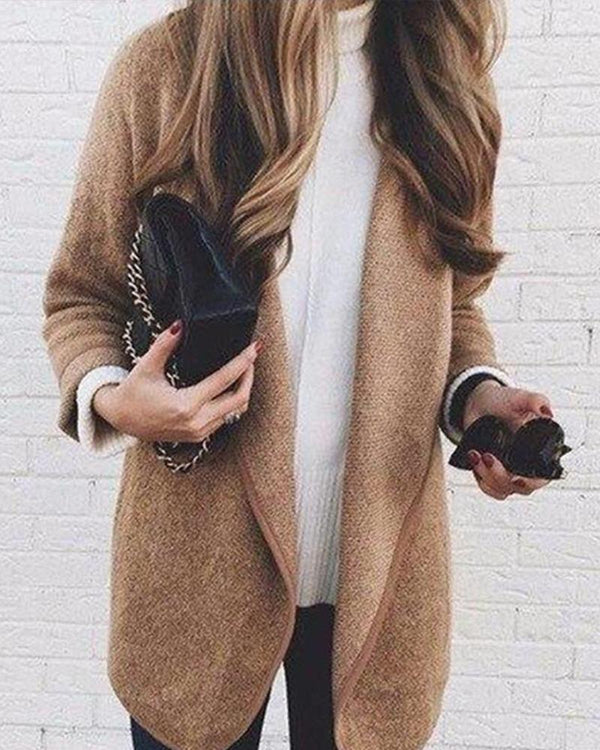 Extra-Thick Minimalistic Casual Coat