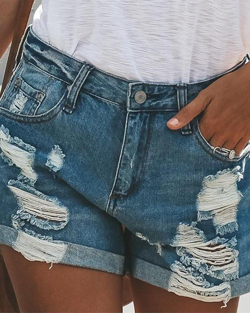 2019 summer street hipsters Europe and America straight pants women's jeans