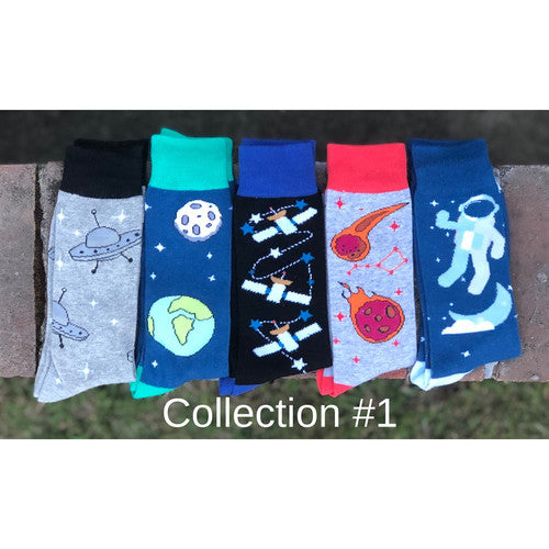 Trendy Space Themed Socks!