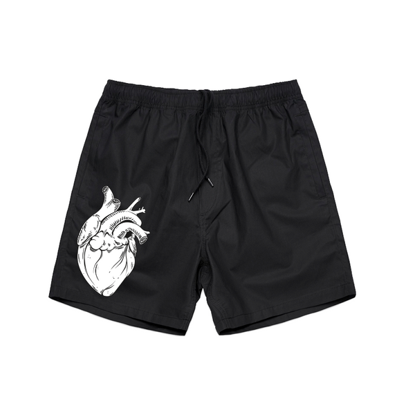Anatomical Heart Forever Shorts - Black
