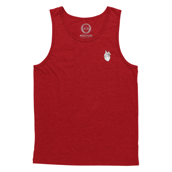 Anatomical Heart Forever Tank Top - Blood Red