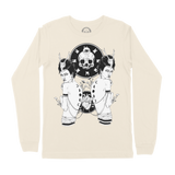 Didyma (The Twins) Long Sleeve Tee - Bone