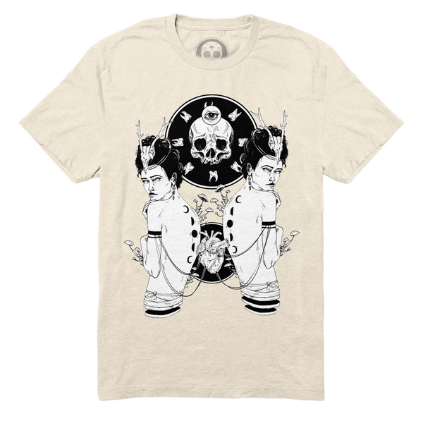 Didyma (The Twins) Tee - Bone