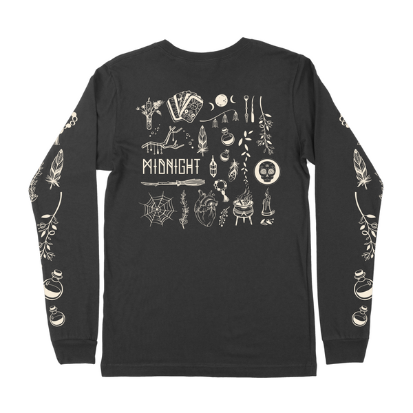 Witchcraft Long Sleeve Tee - Black