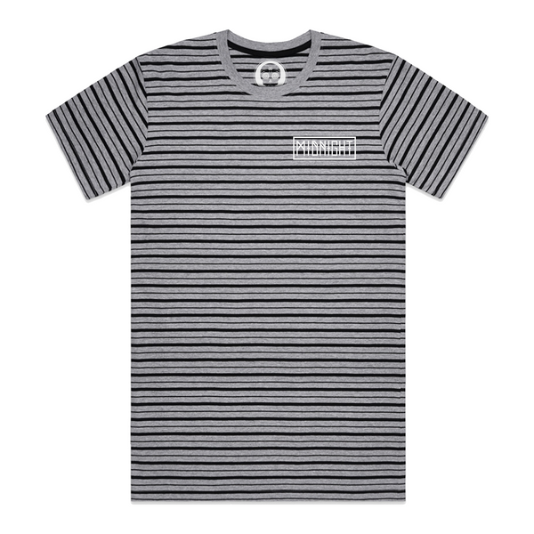 Ritual Stripe Tee - Black/Grey