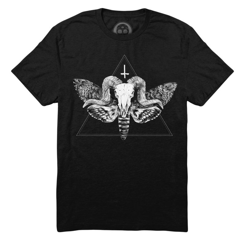 The Horned God Tee - Black