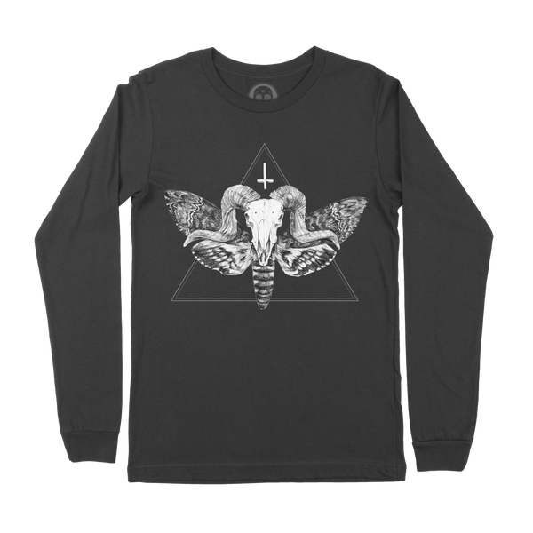 The Horned God Long Sleeve Tee - Black