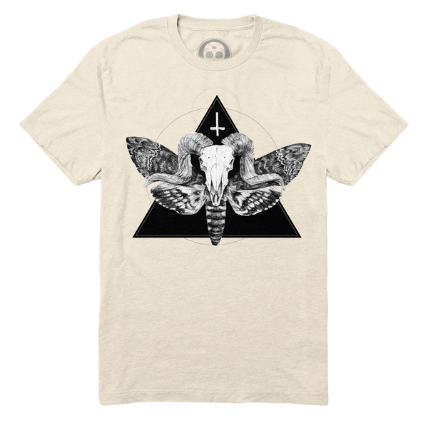 The Horned God Tee - Bone